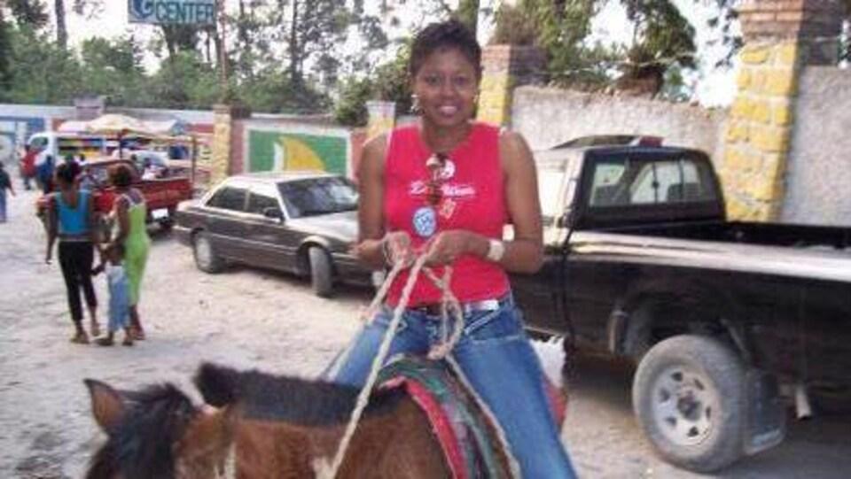 La Septilienne Dgenane Zephir-Bouchard originaire de Haïti se souvient du tremblement de terre qui a dévasté  son pays natal.