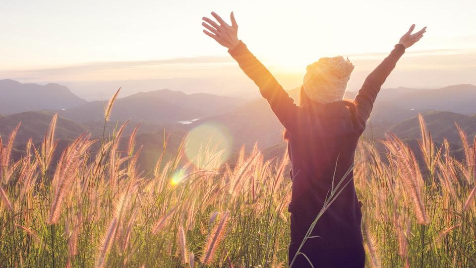 La recette du bonheur passe avant tout par une quête de sens par rapport à sa propre vie, dit Malene Rydahl.