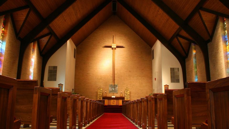 Une église vide