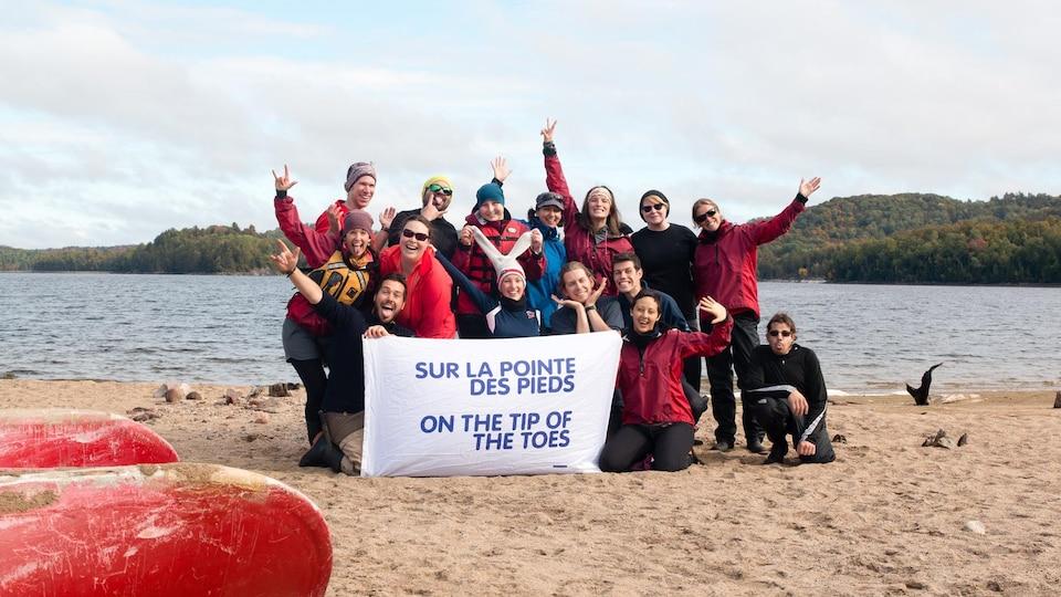 Les participants de l'expédition Évasion 2016 (19-29 ans).