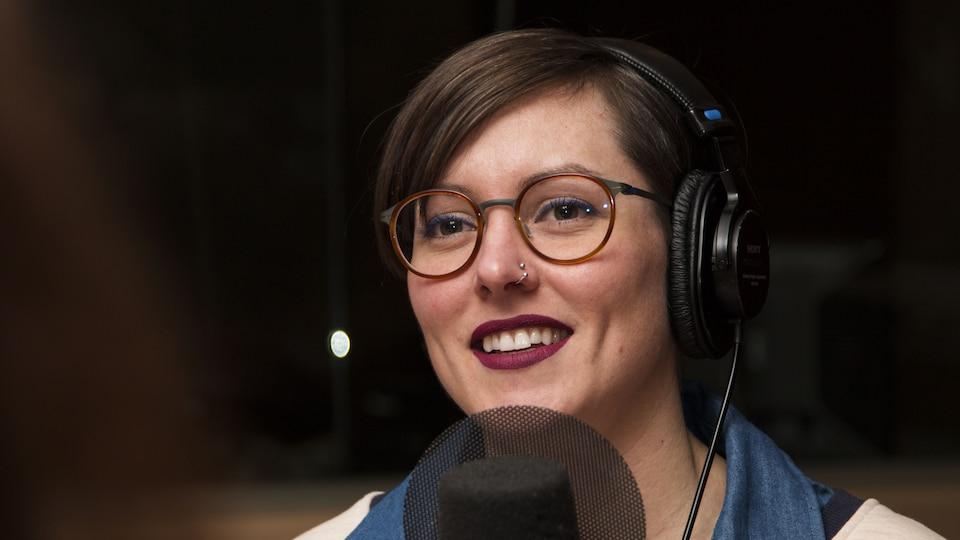 La journaliste scientifique Marianne Desautels-Marissal