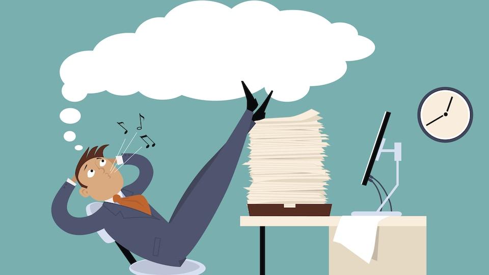 S'il peut être sain de procrastiner, cela peut aussi nous jouer de vilains tours, surtout au travail.