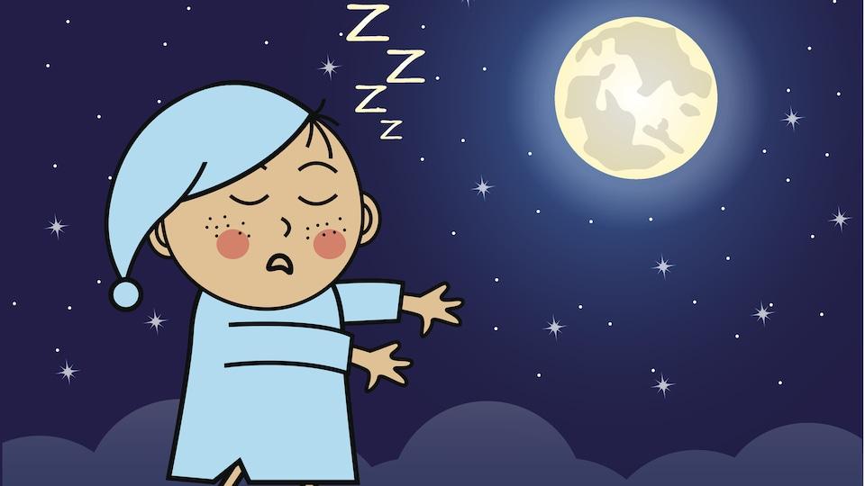 Le somnambulisme est fréquent chez les enfants.