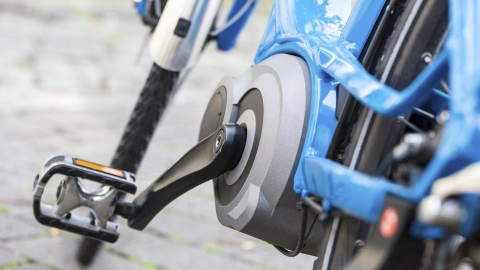 Un vélo à assistance électrique