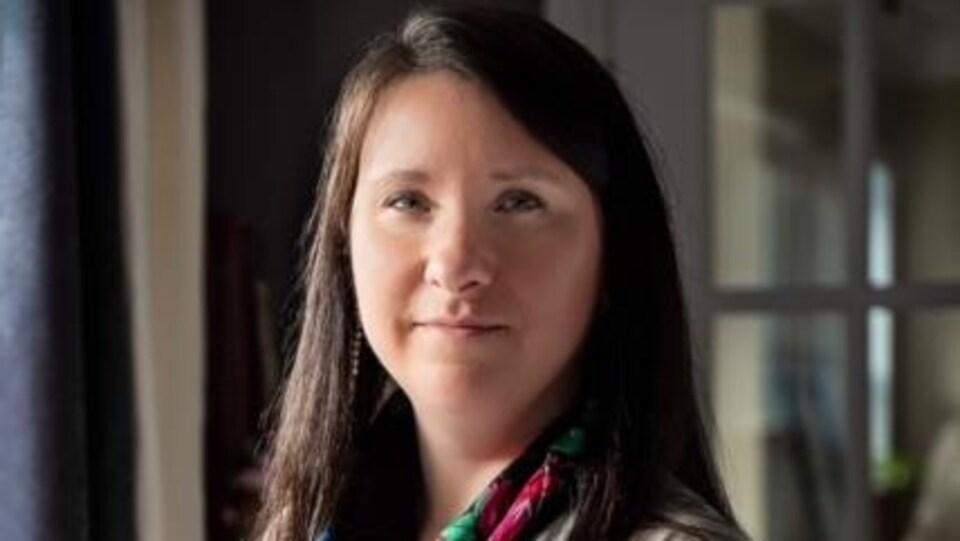 Édith Bélanger, journaliste à Espaces autochtones de Radio-Canada.