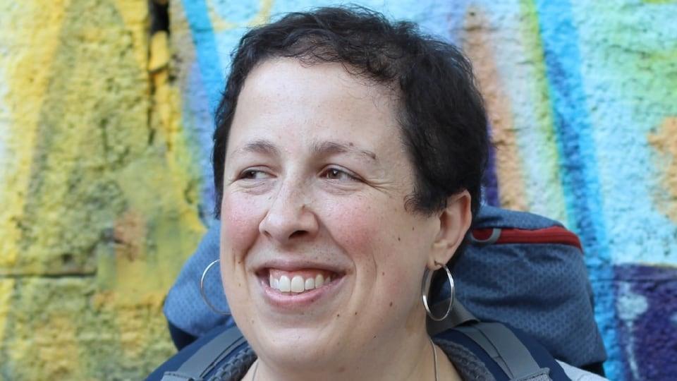 La blogeuse et voyageuse Édith Bernier