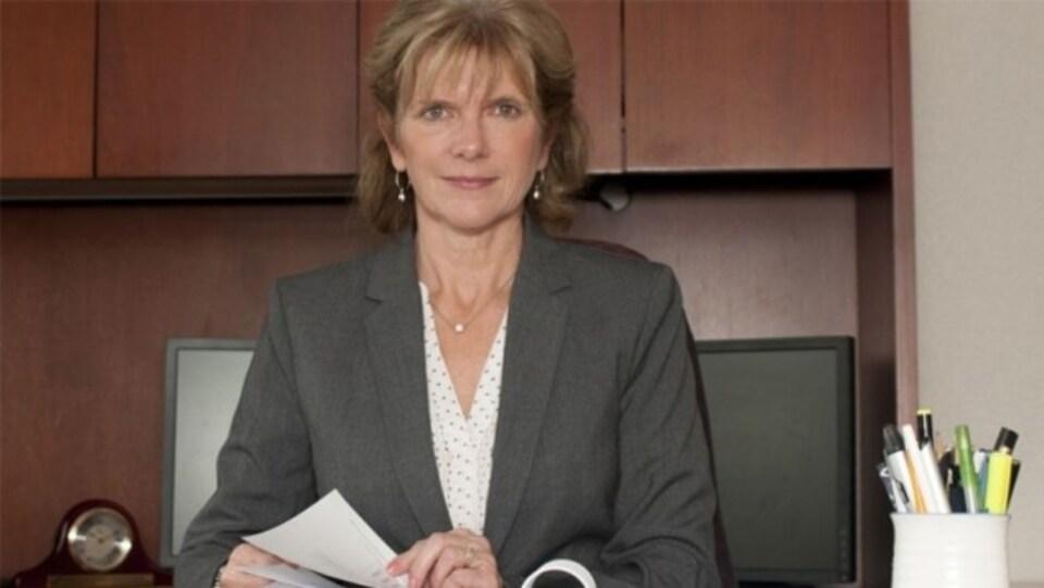 La vérificatrice générale du Nouveau-Brunswick Kim MacPherson s'apprête à présenter un nouveau rapport sur Atcon