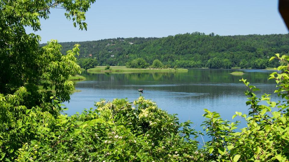 Vue du fleuve Saint-Jean, à Fredericton.