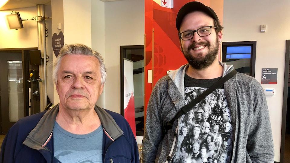Gilles Arteau et Guillaume Vallée