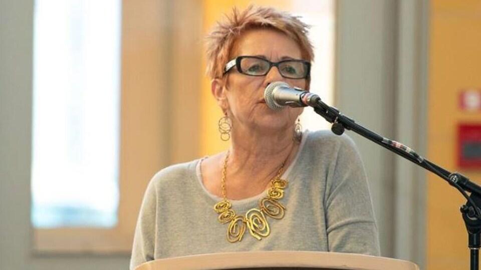 L'écrivaine Gracia Couturier.