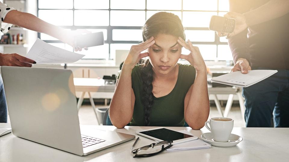 L'effet des vacances perdure peu une fois de retour au travail.