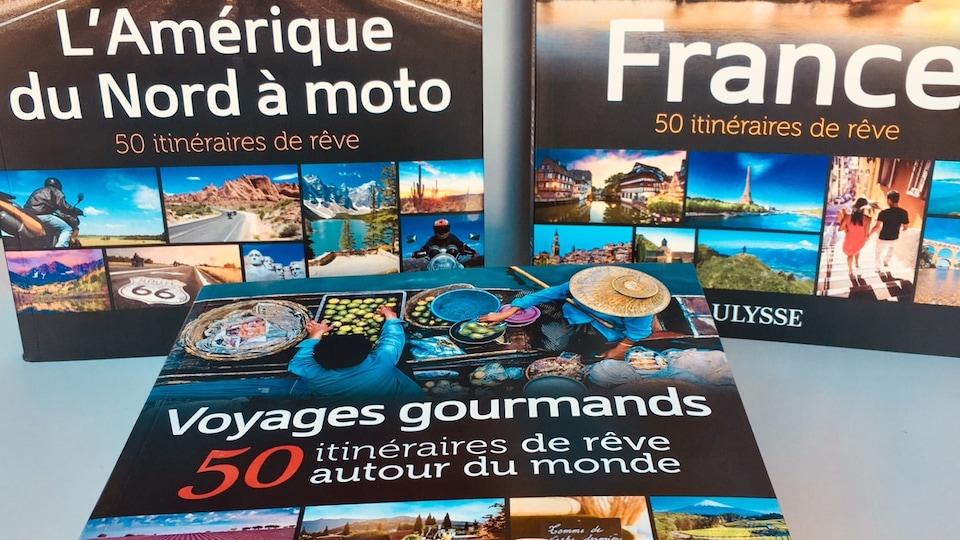 3 guides de voyage des Éditions Ulysse