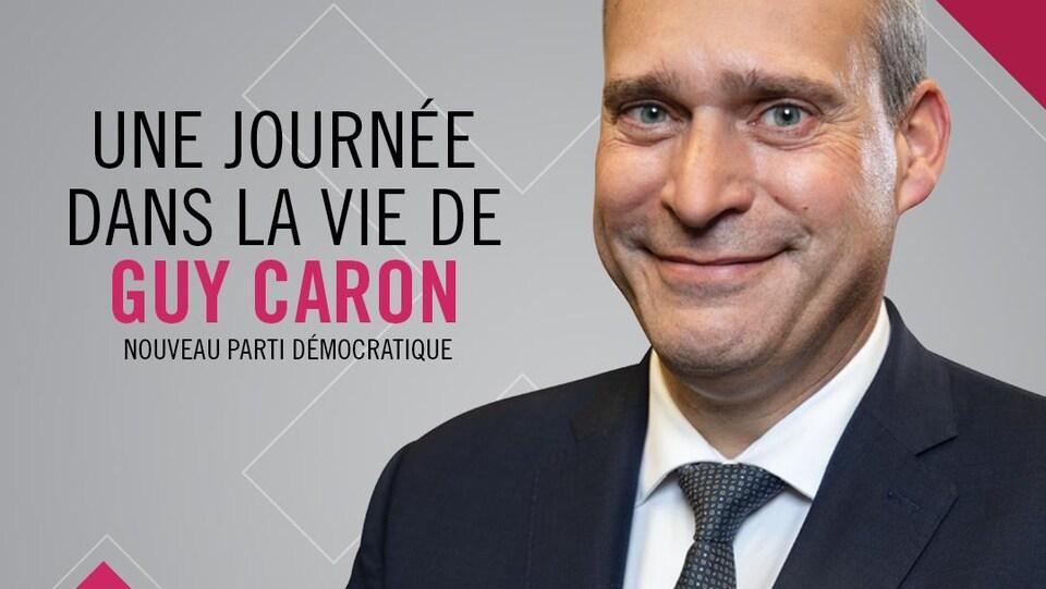Portrait de Guy Caron