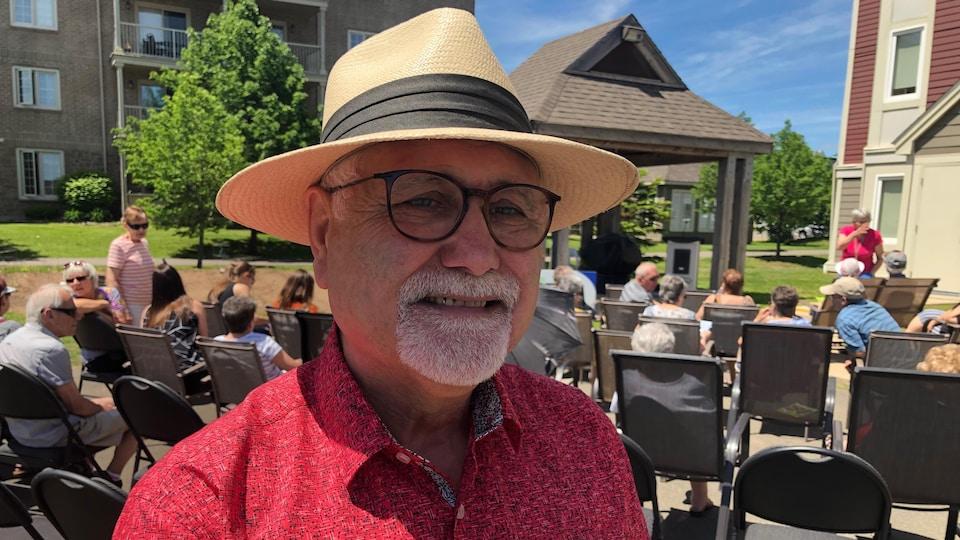 Luc Doucet Directeur général de l'Association francophone des aînés du N.-B.