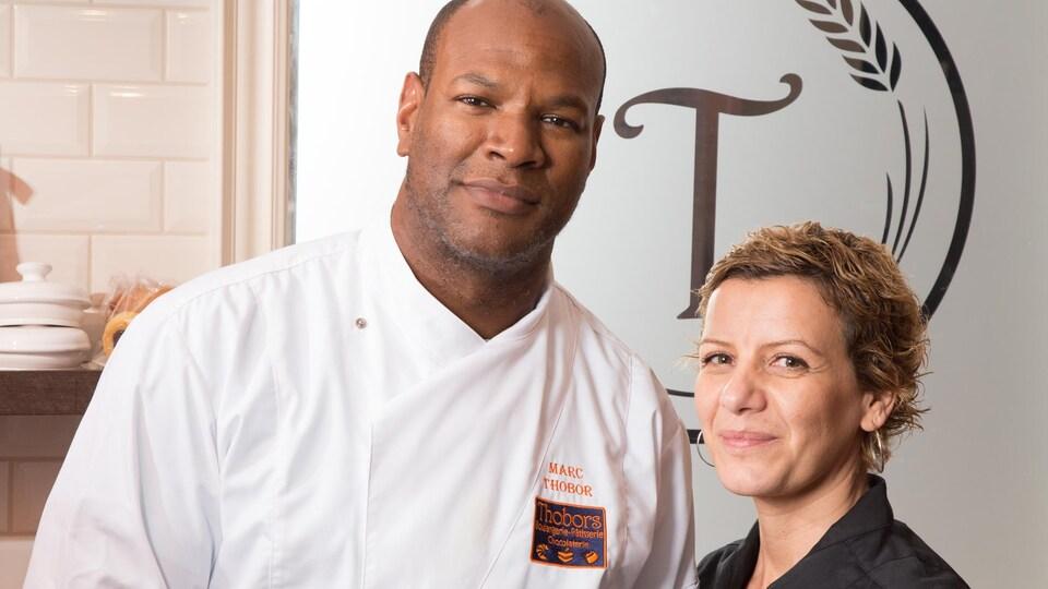Marc et Sylvie Thobor, copropriétaires de Thobors Café Gourmand.