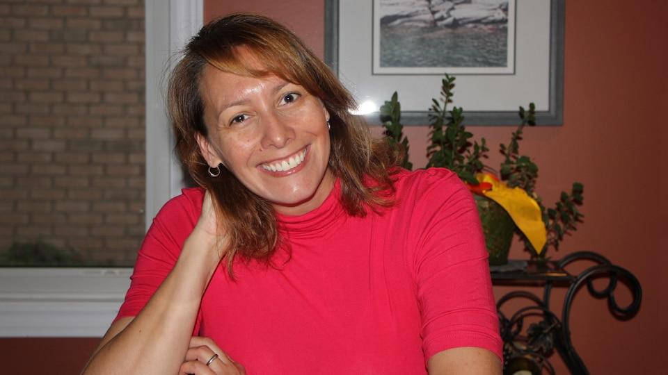 Marie-Pierre Daoust est agente de liaison communautaire pour le Conseil scolaire catholique MonAvenir.