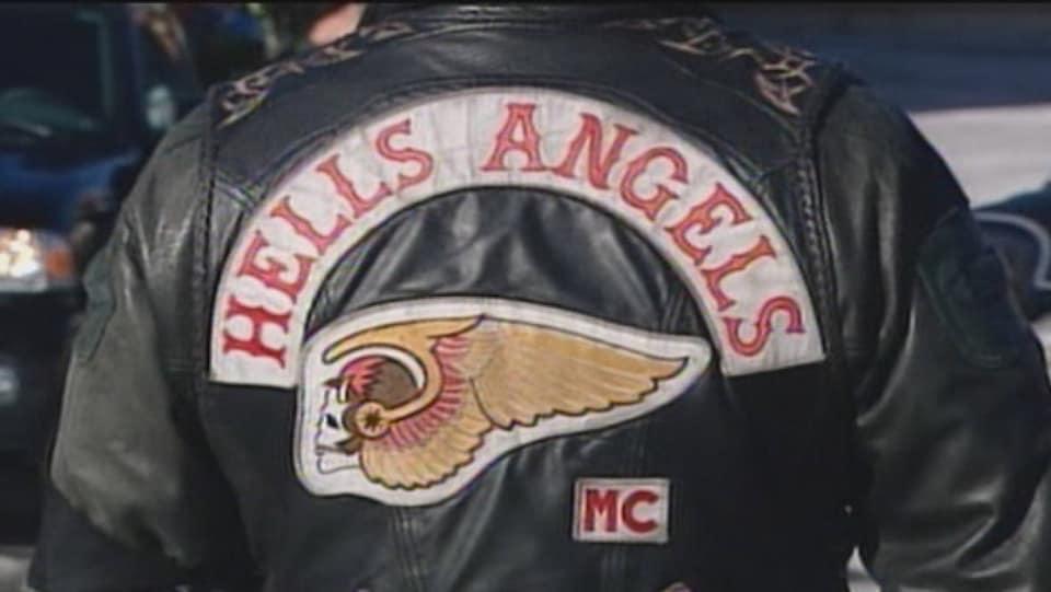Blouson du groupe de motards Hells Angels.