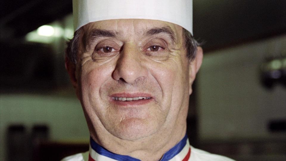 Le chef cuisinier Paul Bocuse en 1992.