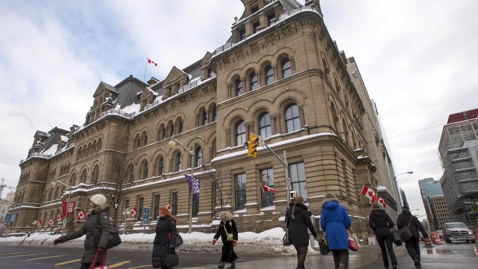 Le Bureau du premier ministre et du conseil privé à Ottawa.