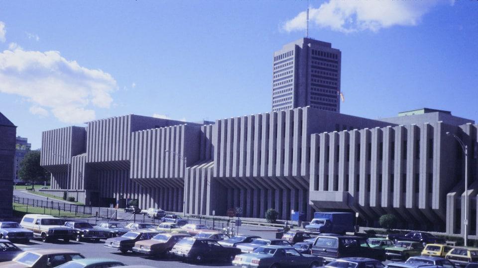 Le complexe H en 1979.