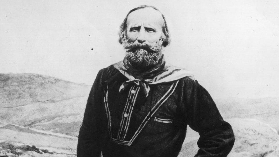 Le révolutionnaire italien Giuseppe Garibaldi.