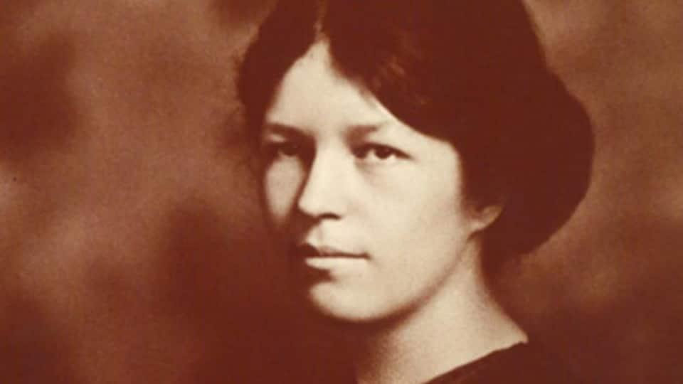 Marie Gérin-Lajoie en page couverture du livre Marie Gérin-Lajoie : De mère en fille, la cause des femmes, d'Hélène Pelletier-Baillargeon.