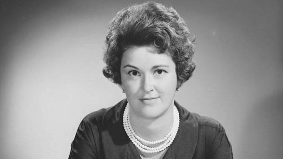 Portrait de la femme politique et juriste Marie-Claire Kirkland.