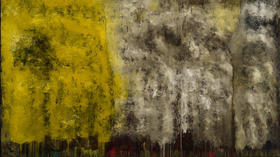 Les continents fleuris no. 2, de Jean McEwen