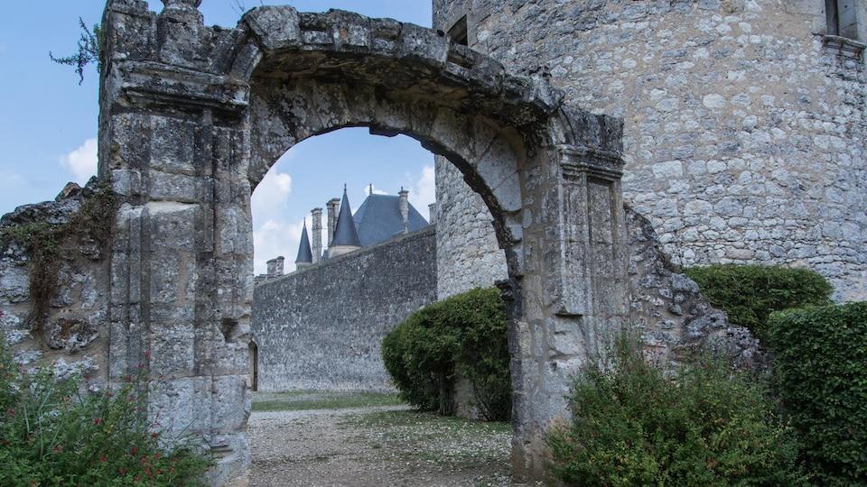 Le château de Montaigne.