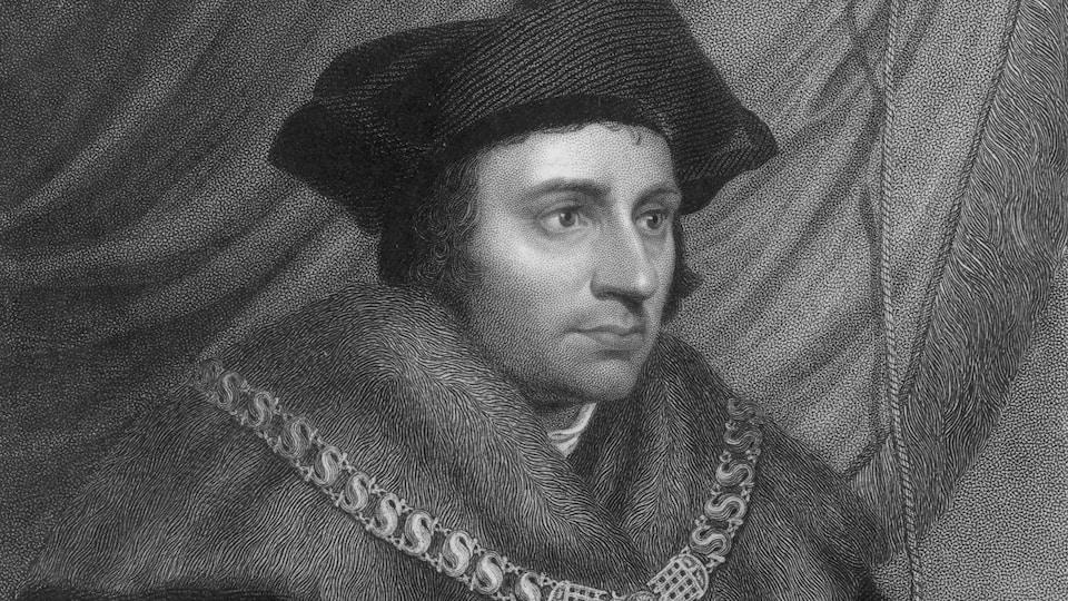 Gravure représentant Thomas More en 1530 environ.