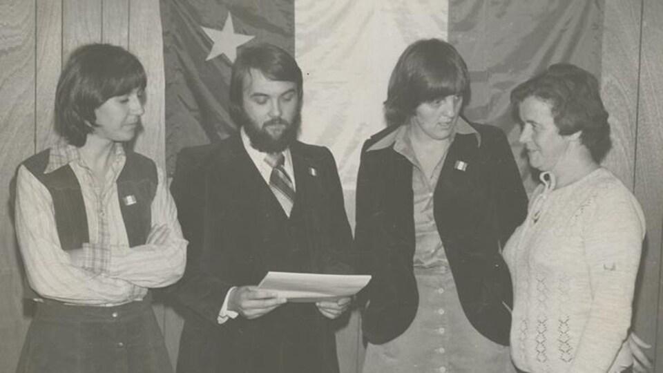 Fondation du Parti acadien en 1971.