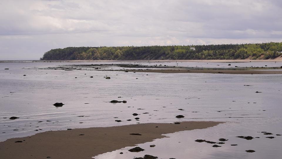 Pointe-aux-Alouettes de Baie-Sainte-Catherine, dans Charlevoix.