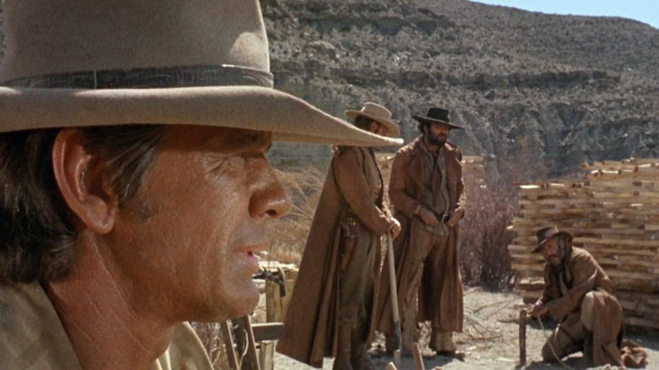 Un cowboy joué par Charles Bronson dans une scène du film <em>Il était une fois dans l'Ouest</em>