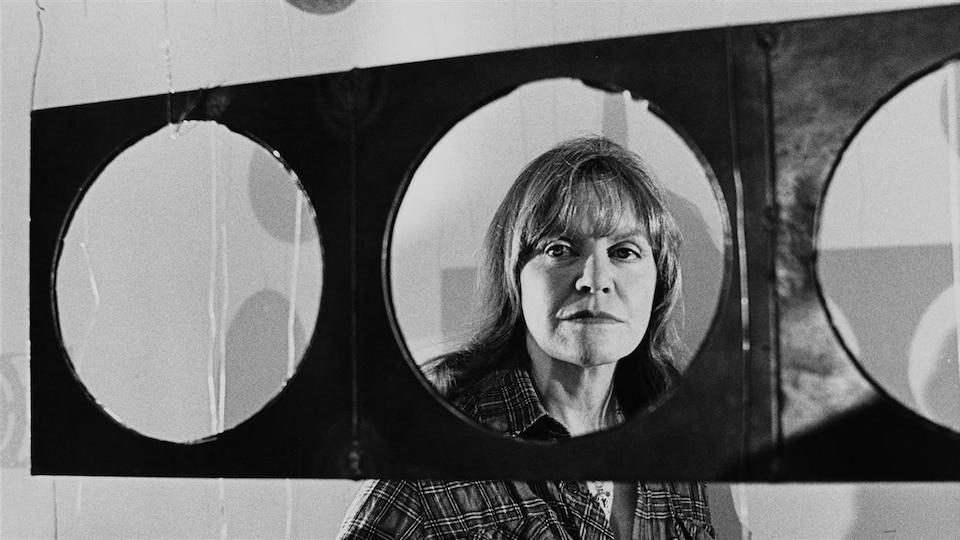 L'artiste sculpteure Françoise Sullivan en 1979.