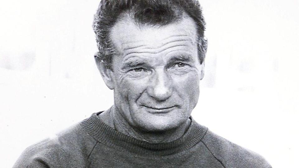 Le navigateur français Éric Tabarly.