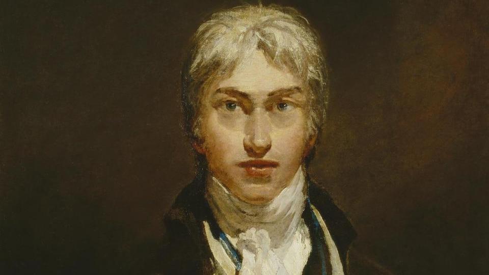 Autoportrait du peintre anglais William Turner réalisé en 1799.