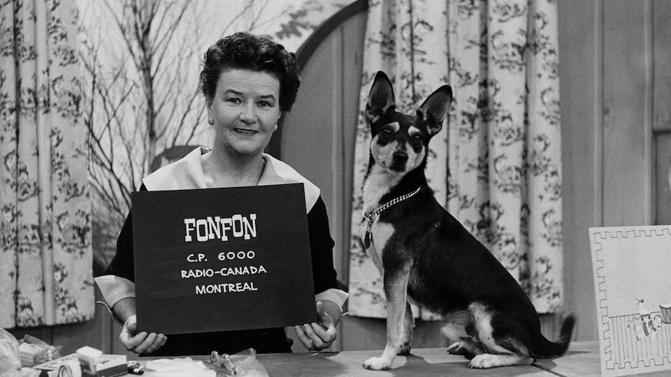 Claudine Vallerand, alias Maman Fonfon.