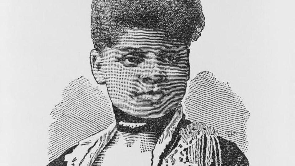 Illustration de la journaliste afro-américaine Ida B. Wells.