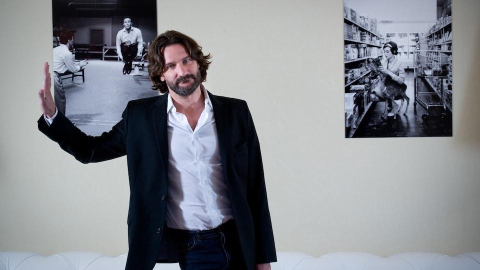 L'écrivain, réalisateur et animateur de télévision Frédéric Beigbeder