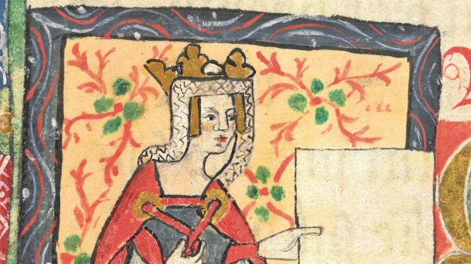 Un dessin du Moyen-âge.