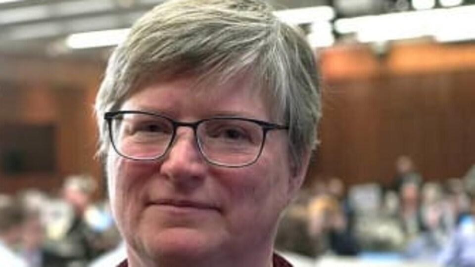 La politologue Geneviève Tellier