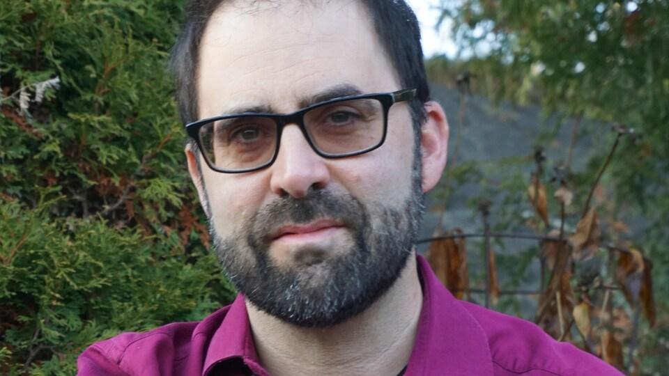 Portrait de Joel Belliveau.