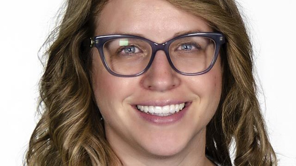 Portrait de Tina Leduc.
