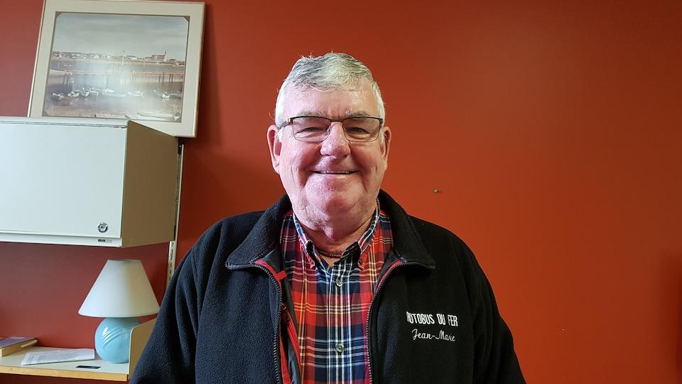 Jean-Marie-Potvin, président de la Chambre de commerce de Port-Cartier