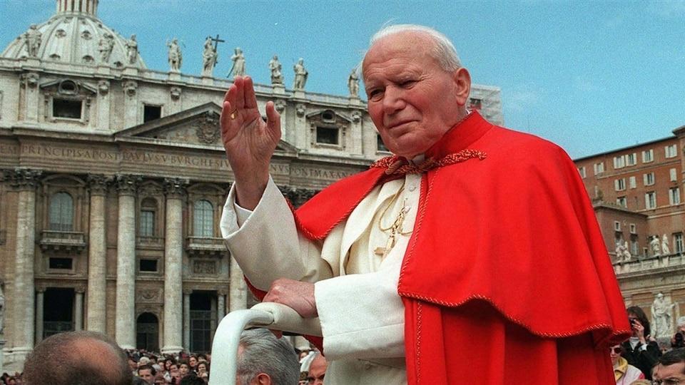 Pape Jean-Paul II en 1997