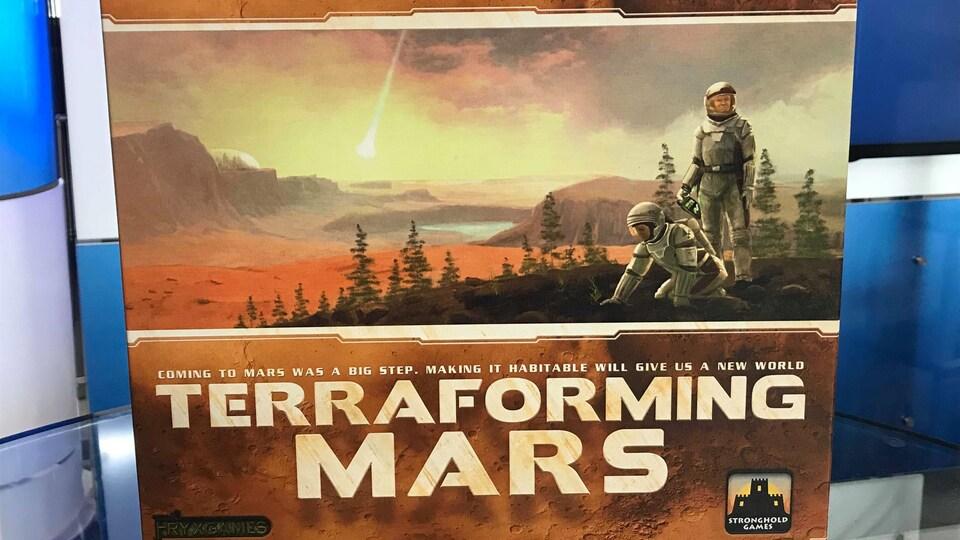 Le jeu Terraforming Mars