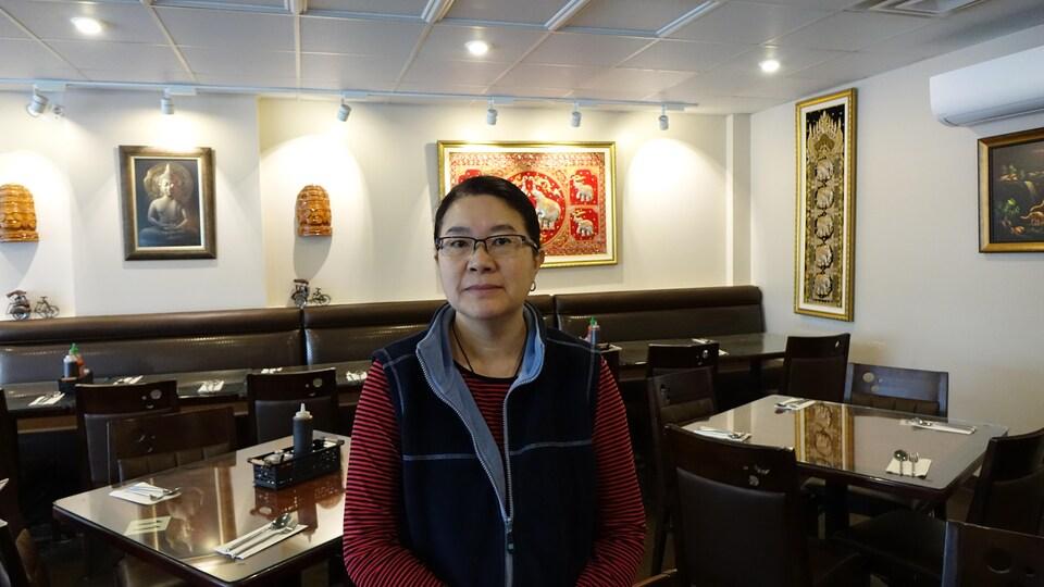 Kung Lim, employée et gestionnaire du restaurant asiatique Phuket Royal dans le quartier chinois à Ottawa.