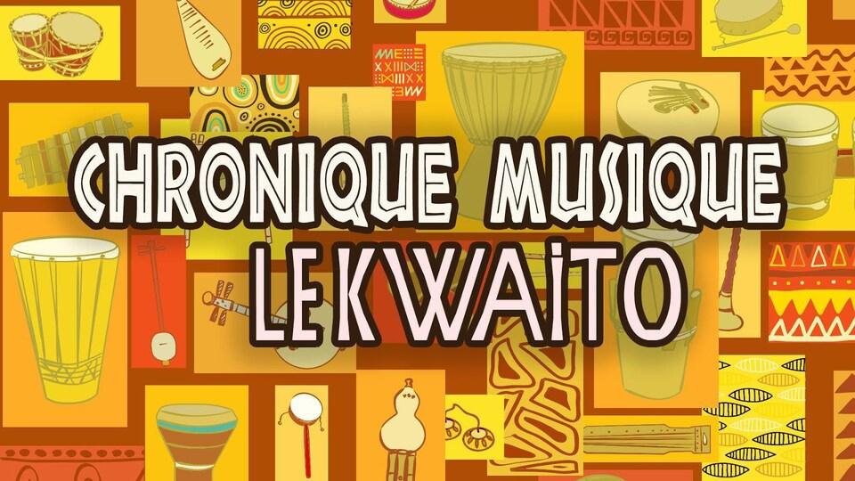 Instruments de musique africaine.
