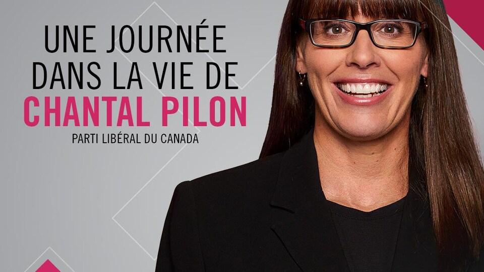 Portrait de Chantal Pilon.
