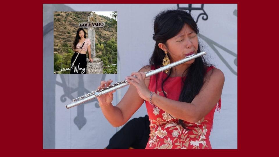 La flûtiste flamenca Lara Wong.